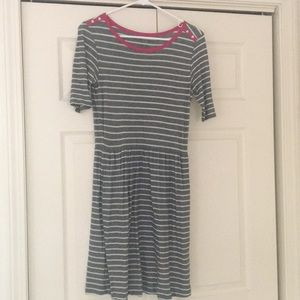 Anthropologie striped jersey dress